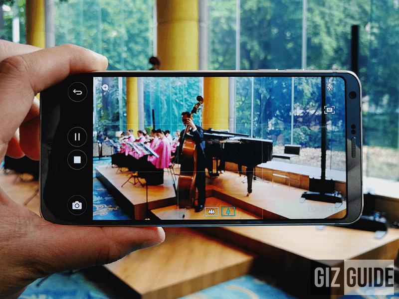 LG G6 Audio Recording Sample