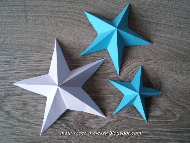 Jak zrobić przestrzenną gwiazdkę z papieru? Świąteczne DIY + filmik