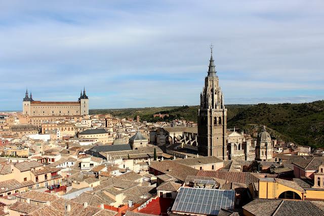 Vistas de Toledo desde la iglesia de San Ildefonso