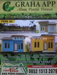 perumahan murah di puntik handil bakti banjarmasin