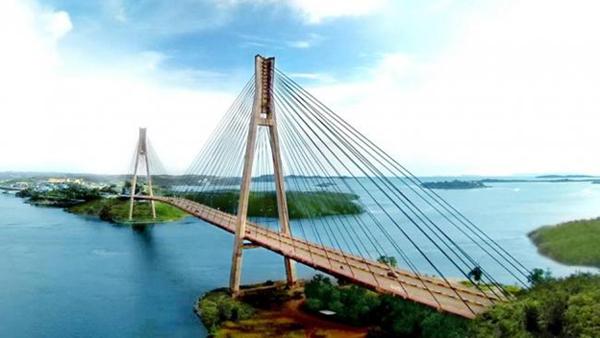 Jembatan Barelang tempat wisata instagramable di Batam