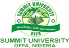 Summit University 2018/2019 Post-UTME Admission Screening Form Out