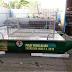 KA300D38 Perahu Aluminium Pembersih Sungai atau Pemungut Sampah Sungai