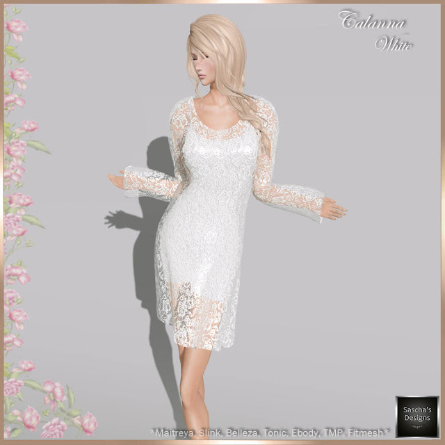 SASCHA'S DESIGNS - Calanna Dress (Mesh Bodies & Fitmesh)