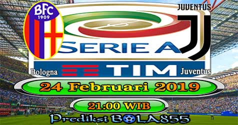 Prediksi Bola855 Bologna vs Juventus 24 Februari 2019