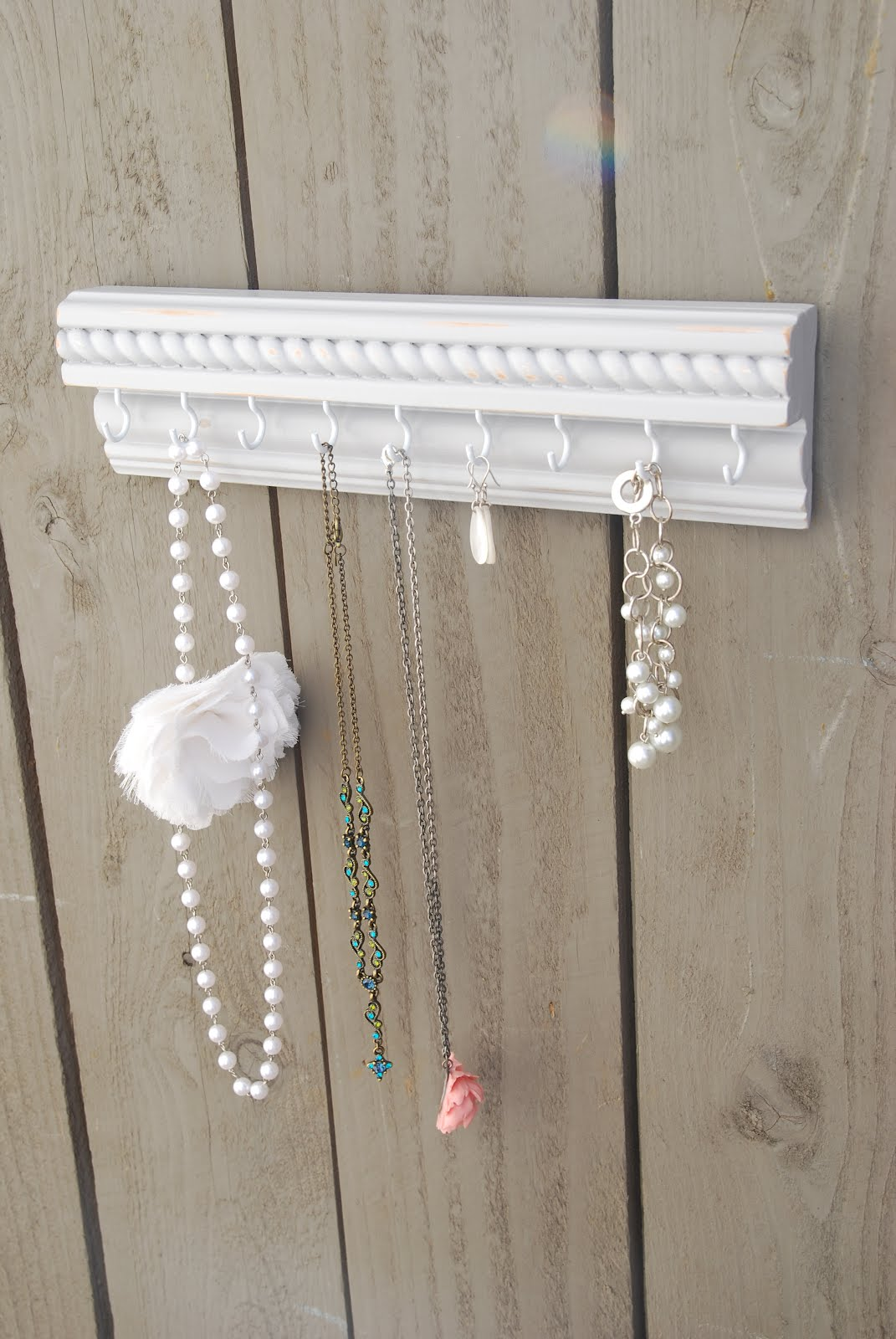 yepadoodle craft jewelry organizer pinterest inspired