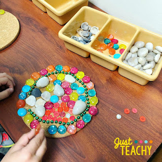 Loose Parts are a great way to increase a child's creativity through open-ended play., www.justteachy.com