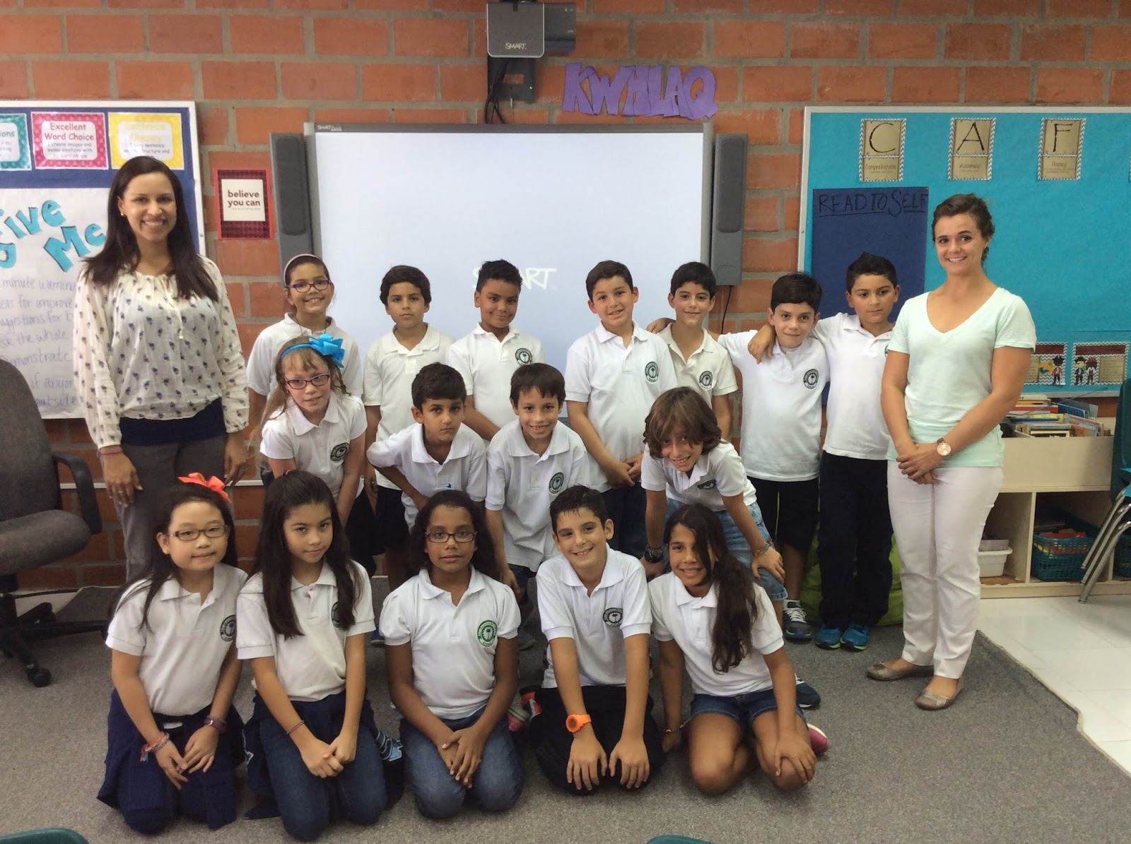Ms  Hodges' 3rd Grade: Day 1 of Fourth Grade is in the books!