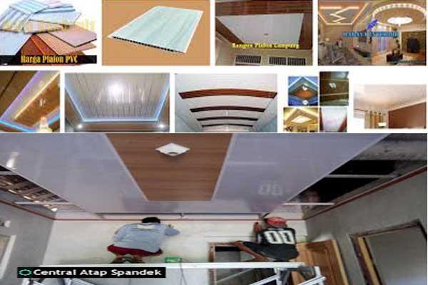 Harga Plafon PVC Tangerang Berikut Pemasangan Per Meter 2019