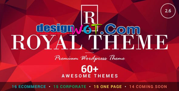 Royal – Multi-Purpose WordPress Premium Theme
