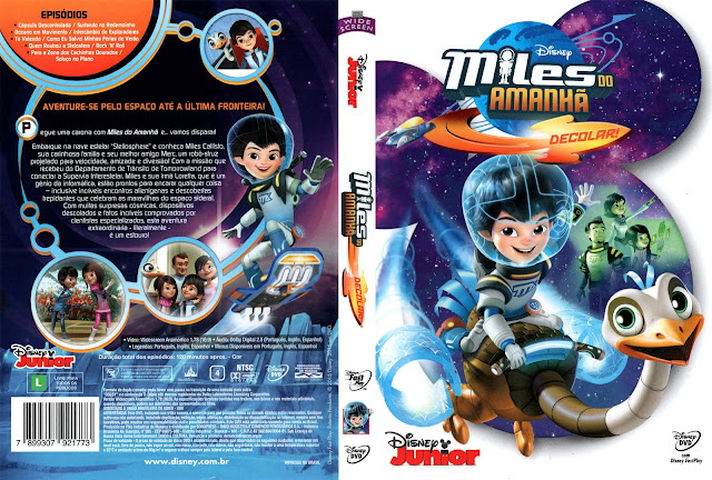 Capa DVD Miles Do Amanhã Decolar