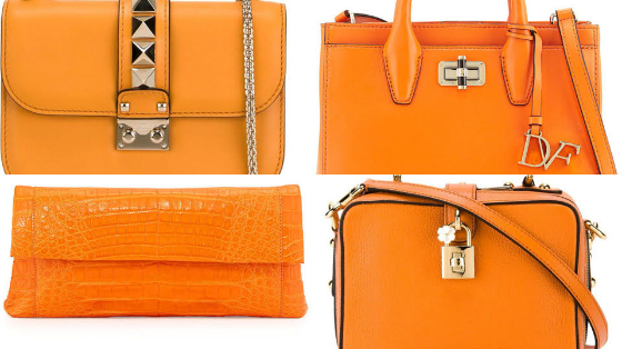 bolsas laranja