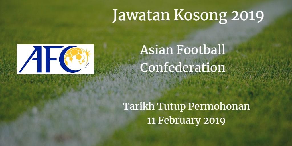 Jawatan Kosong AFC 11 February 2019