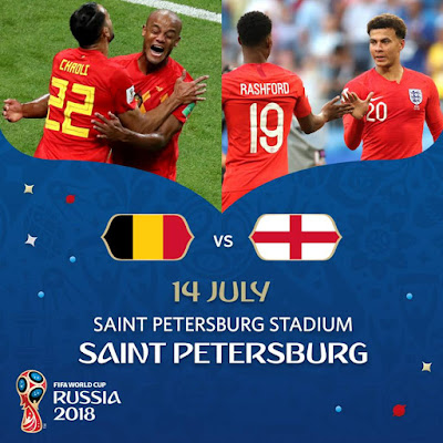 BELGIUM VS ENGLAND LIVE STREAM WORLD CUP 14.7.2018