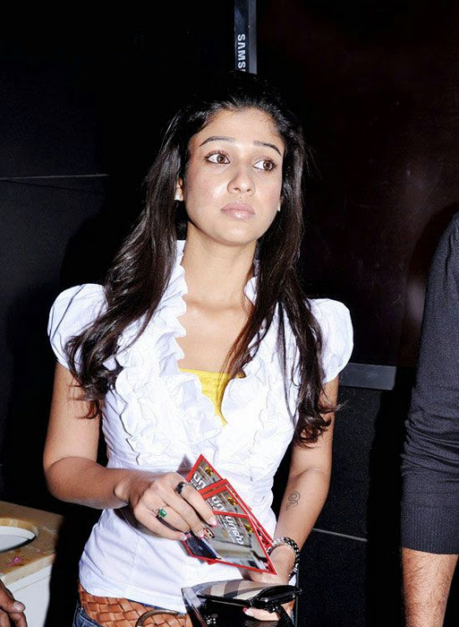 Nayanatara Hot Photos in White Dress