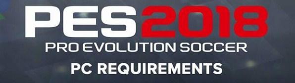 Spesifikasi Resmi PES 2018 versi PC