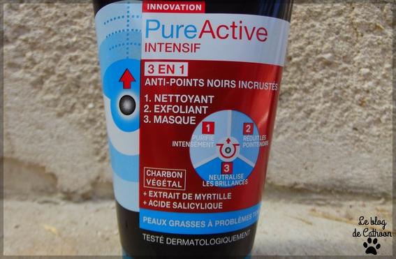 Garnier - SkinActive PureActive Intensif 3 en 1 - Anti-points noirs incrustés