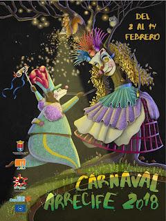 Arrecife - Carnaval 2018 - Nerome Melián