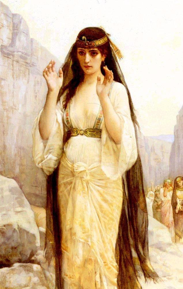 The Daughter of Jephthah, by Alexandre Cabanel (1879)