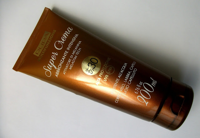 Pupa - Super Cream Intensive Tanning SPF30, multipurpose sun product made in Italy. Review
