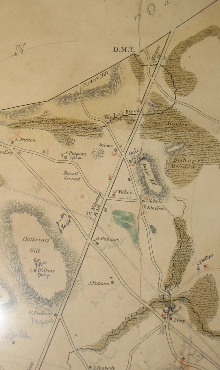 Remembering Danvers: 1832 Danvers map on town of danvers, sign welcome to danvers, map of boston danvers, burlington map of eastern massachusetts danvers, map of reservoir danvers,