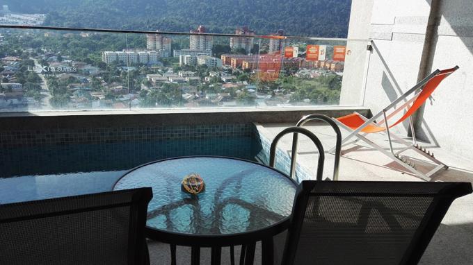 Kolam Persendirian Dalam Executive Pool Suite - Lexis Penang