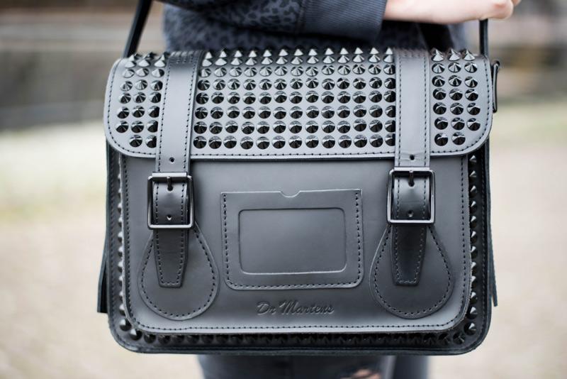Studded Dr Martens Bag