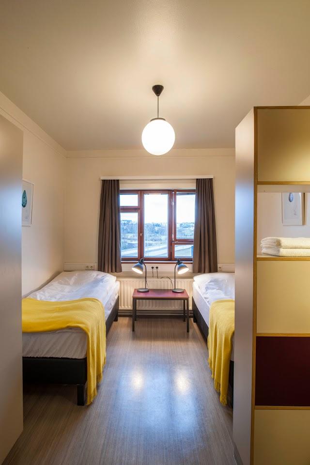 Habitación doble Student Hostel Reikiavik