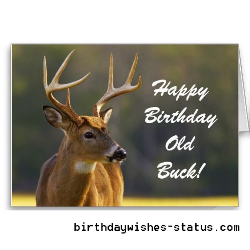 birthday wishes for hunters