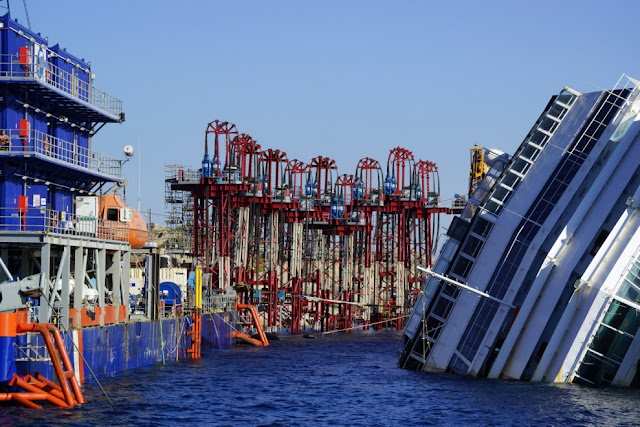 Costa Concordia today