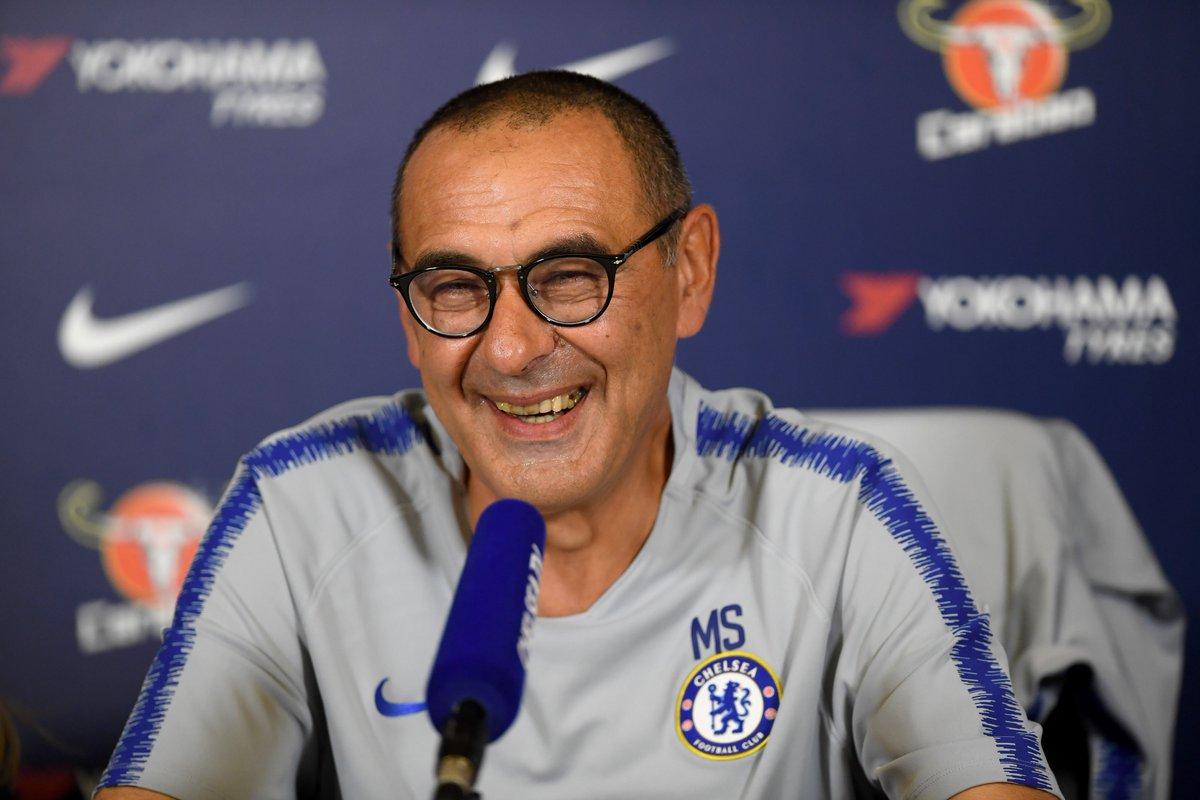 Sarri Senang Chelsea Bisa Jaga Clean-sheet