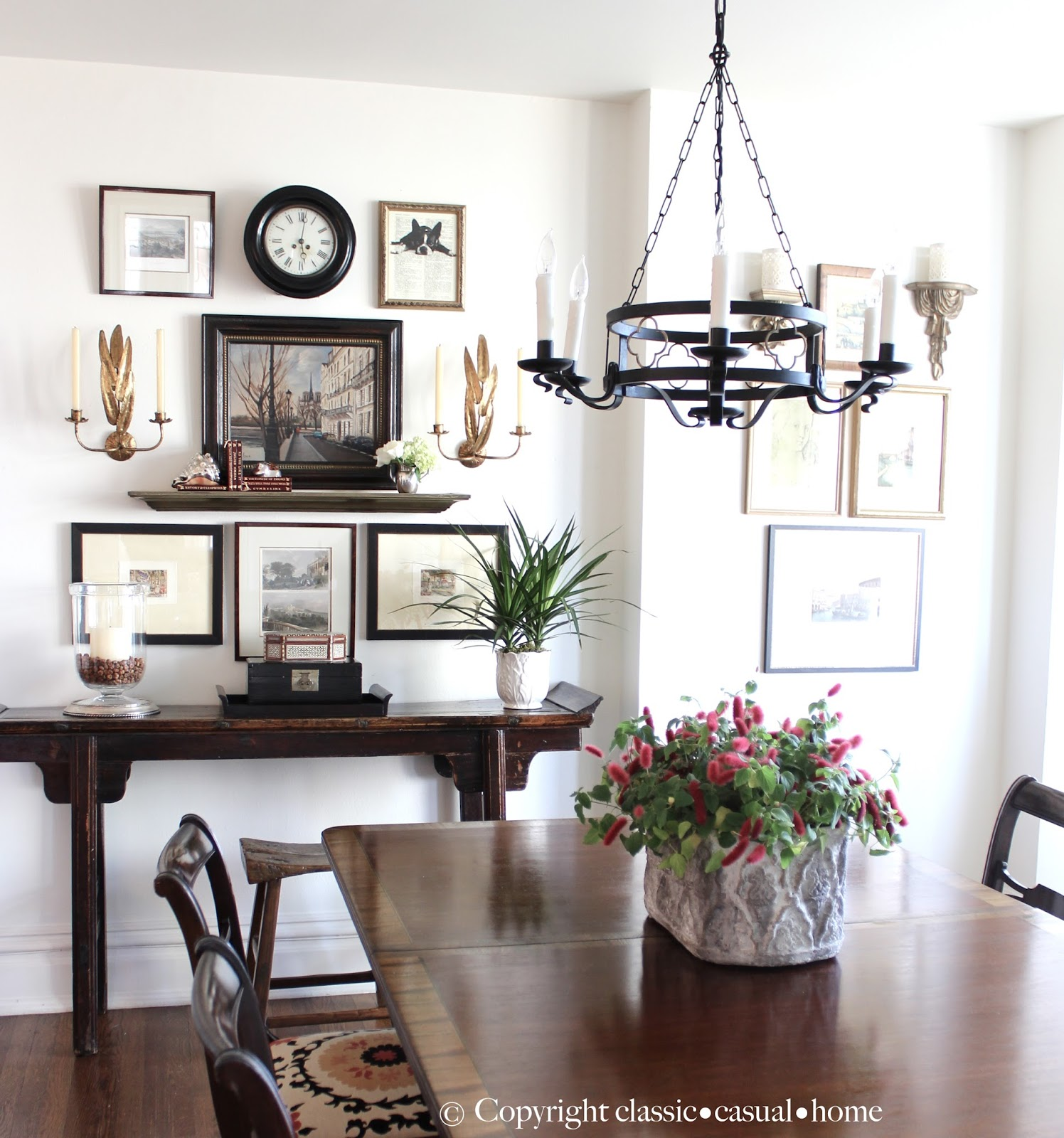 Casual Dining Room Decor Ideas: Classic • Casual • Home: Project Design: Vintage Gallery