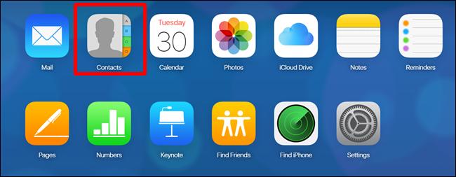spostare i contatti da iCloud a Google