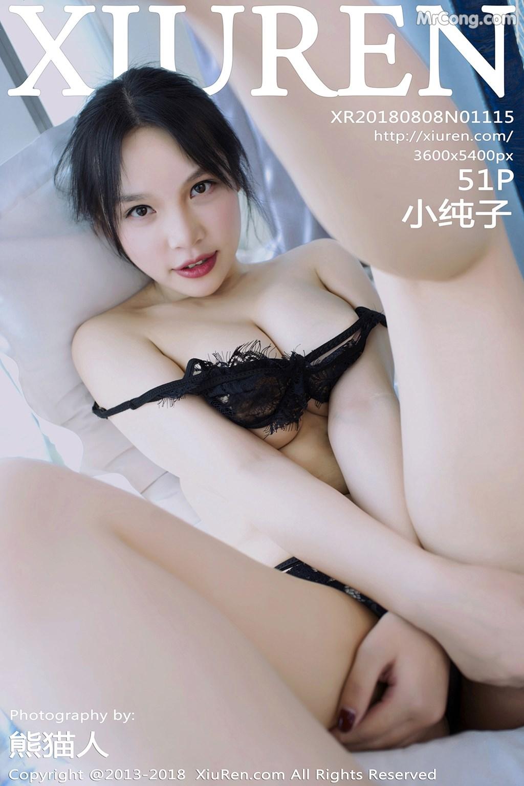 XIUREN No.1115: Người mẫu Xiao Chun Zi (小纯子) (52 ảnh)
