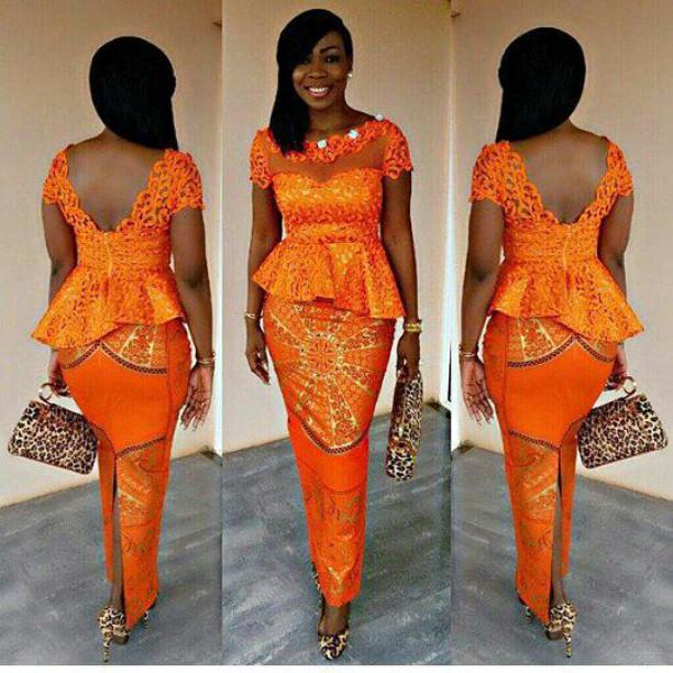Ankara Skirt And Blouse Design