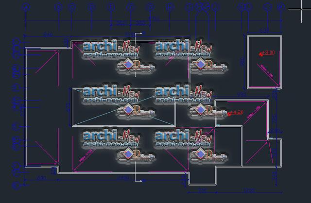 Télécharger le fichier Autocad Architecture Cad Dwg École de commerce élémentaire