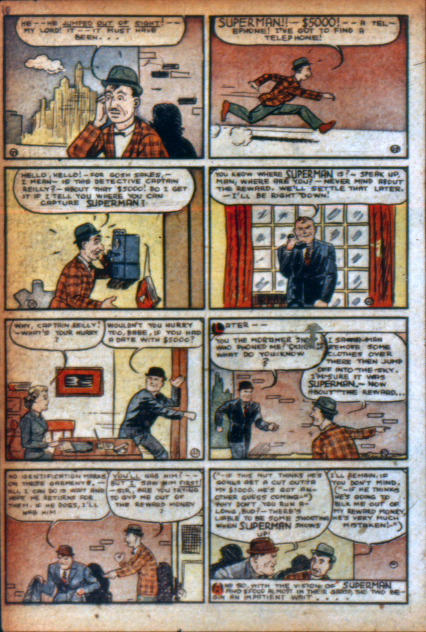 Read online Action Comics (1938) comic -  Issue #9 - 9