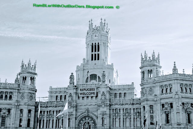 Cibeles Palace, Calle de Alcala, Madrid, Spain