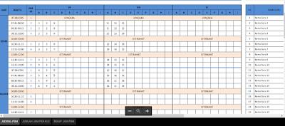Aplikasi Jadwal Pelajaran Anti Bentrok Format Excel