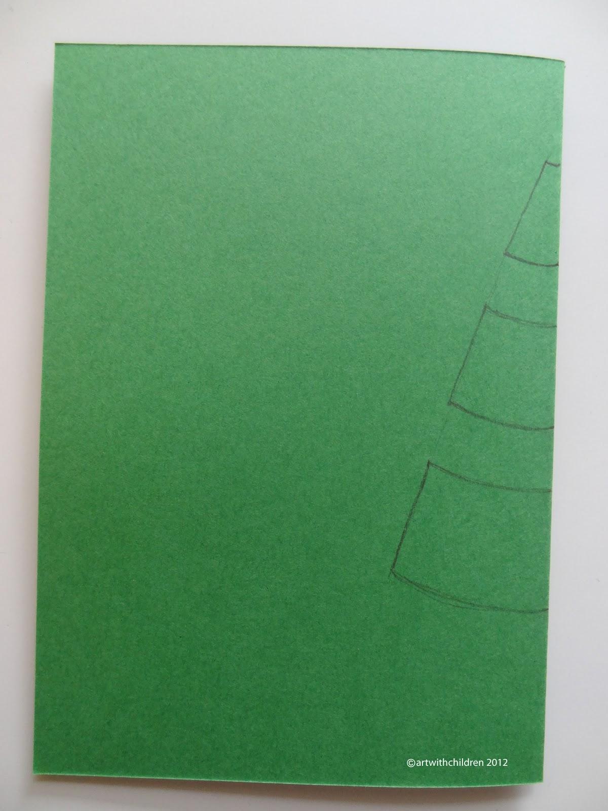 Christmas Tree Cards Ks1.Christmas Tree Pop Up Card