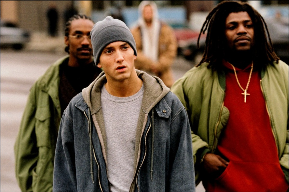 The Ace Black Movie Blog Movie Review 8 Mile 2002