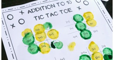 math worksheet : free addition tic tac toe math games  : Tic Tac Toe Math Worksheets