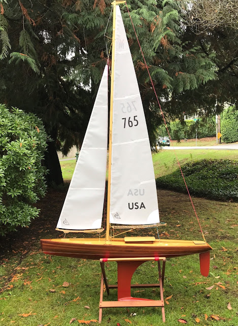 Vintage Marblehead Sun Wind HF rc sailboat