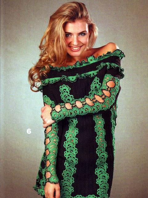 Patron Crochet Tunica Sexy