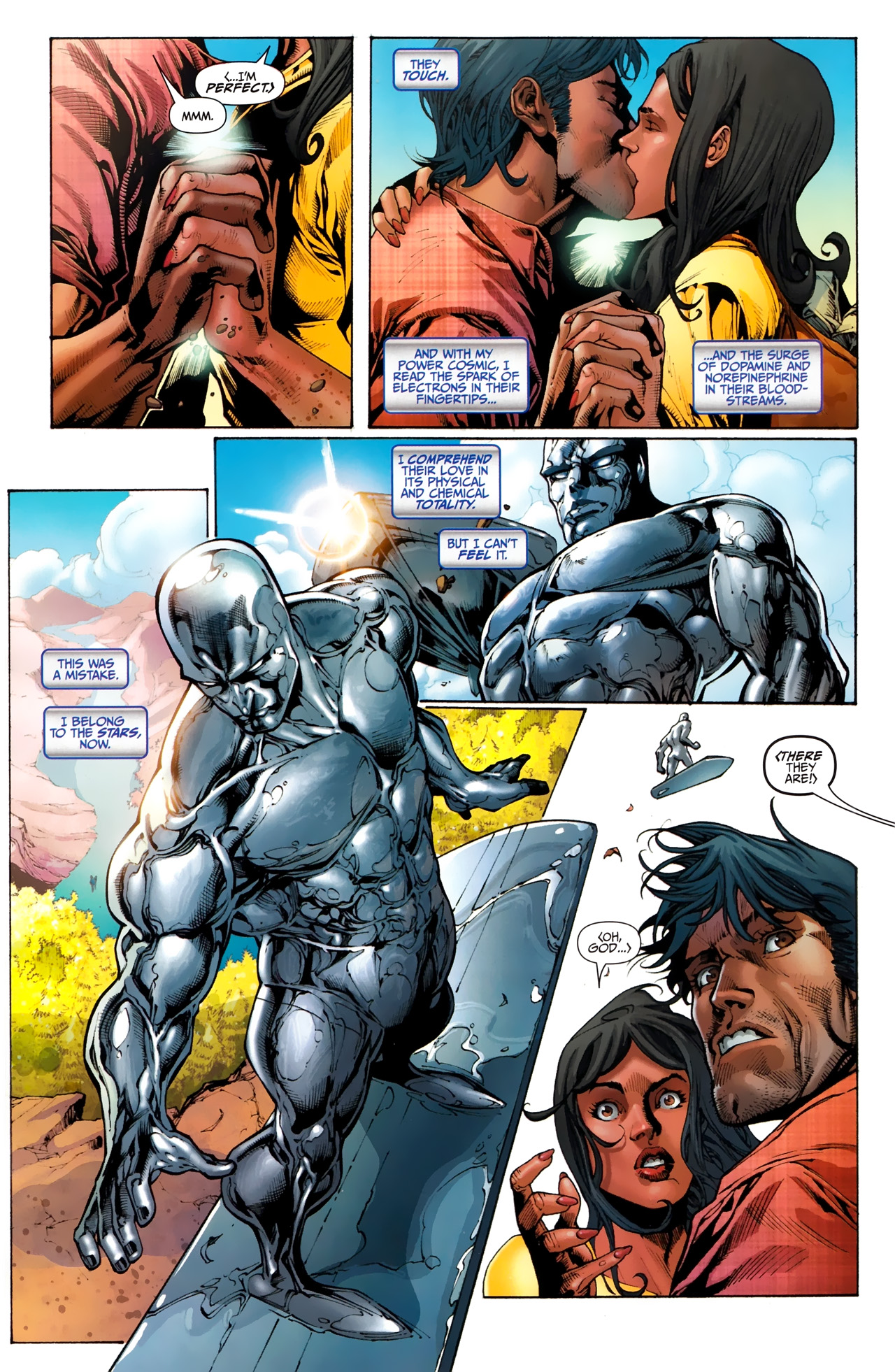 Read online Silver Surfer (2011) comic -  Issue #1 - 9