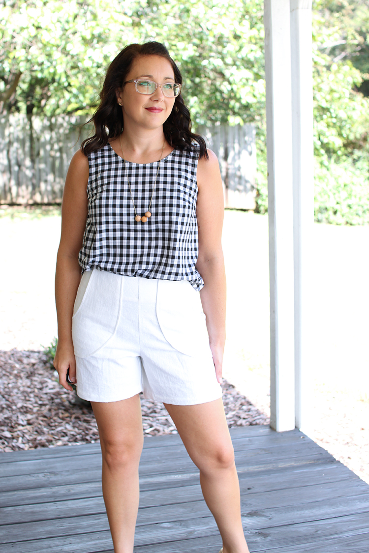 Harper Shorts & Willow Tank // Sewing For Women