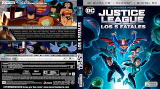 Justice League vs the Fatal Five 2019 - LIGA DE LA JUSTICIA VS LOS 5 FATALES [COVER – 4KUHD]CARATULA