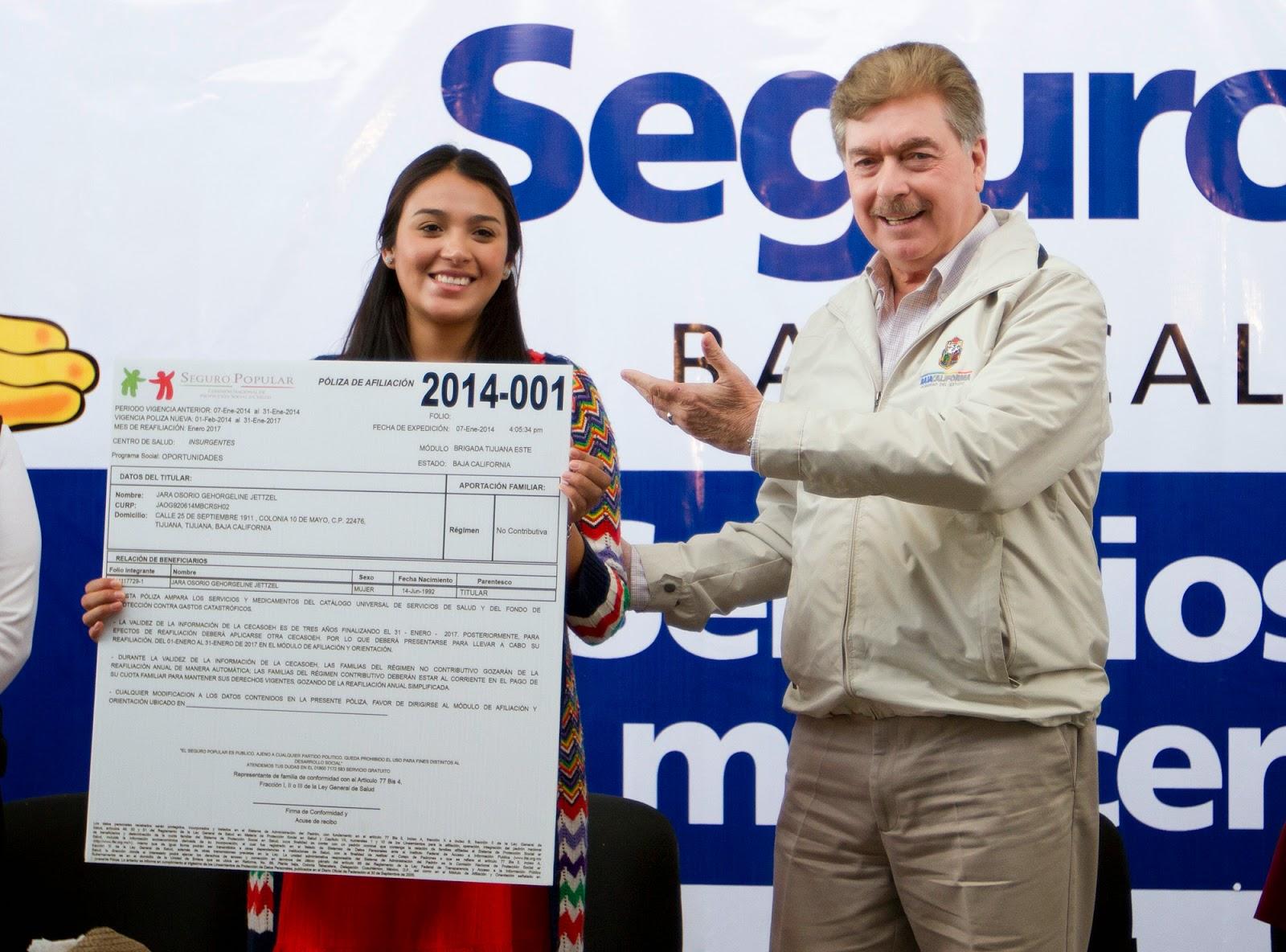 Qué Pasa Bc Inaugura Gobernador Francisco Vega De Lamadrid