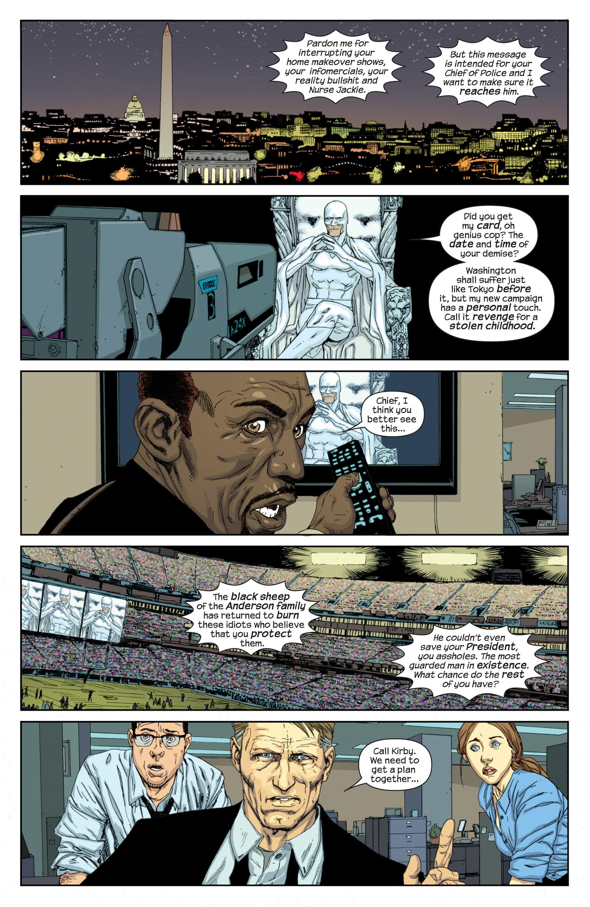 Read online Millar & McNiven's Nemesis comic -  Issue #1 - 25