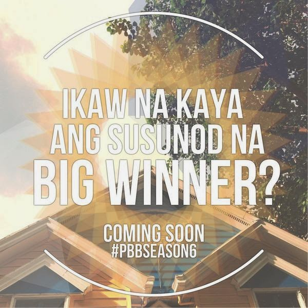 PBB Season 6 is coming very soon
